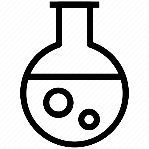 chemistry, experiment flask, flask, lab equipments, lab flask, lab glassware, science icon