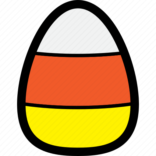 candy, candy corn, corn, food, halloween, sweets icon