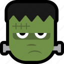 avataar, face, frankenstein, halloween, monster icon