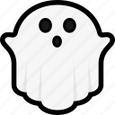 ghost, ghoul, halloween, spooky icon