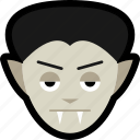 costume, dracula, fangs, halloween, monster, vampire, werewolf icon
