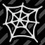 cobweb, halloween, spider, web icon