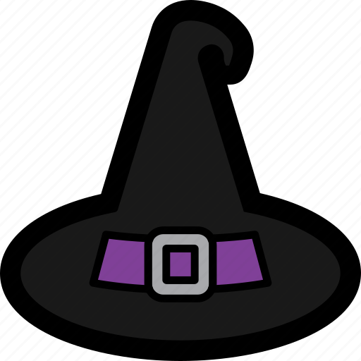 costume, halloween, hat, spooky, witch, witch's icon