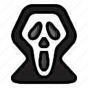 death, halloween, monster, scary, scream, spooky icon