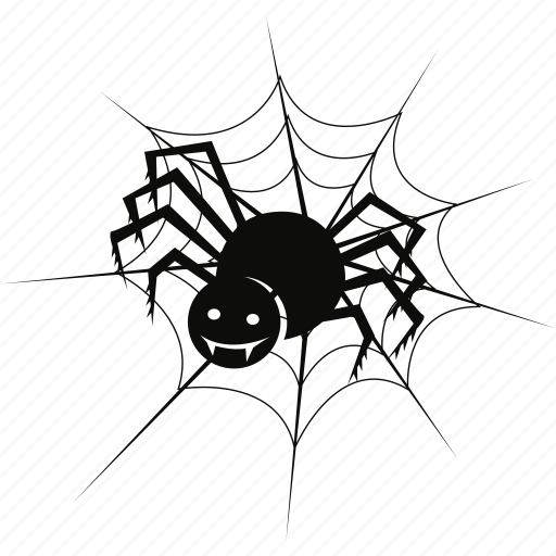 bug, cobweb, evil, ghost, halloween, net, spider icon
