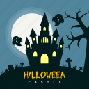 building, castle, dark, ghost, grave, halloween, holiday icon