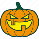 bad, badness, evil, halloween, pumpkin icon