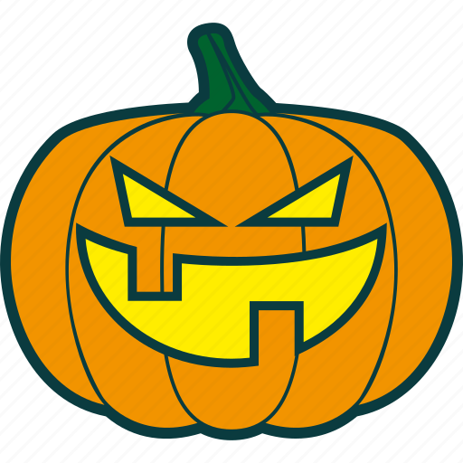 bad, badness, evil, halloween, pumpkin icon