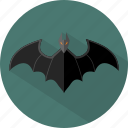 bat, fest, halloween icon