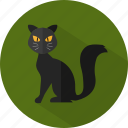 animal, cat, halloween icon