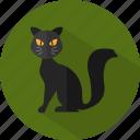 animal, cat, halloween icon