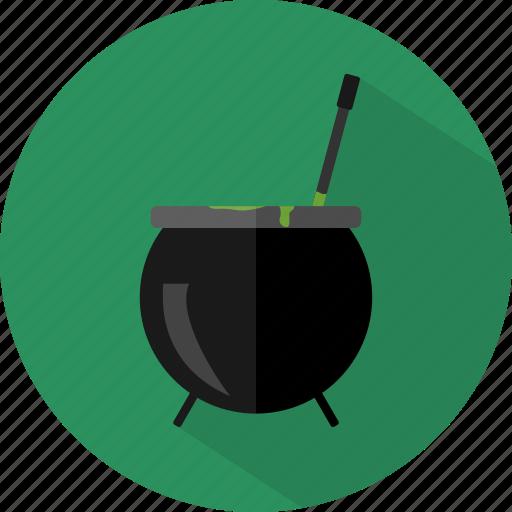 cauldron, halloween, pot, potion icon
