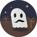 fabric, ghost, halloween icon