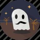 fabric, ghost, halloween icon