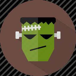 avatar, frankenstein, halloween icon