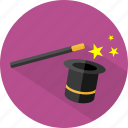 halloween, magic, wand icon
