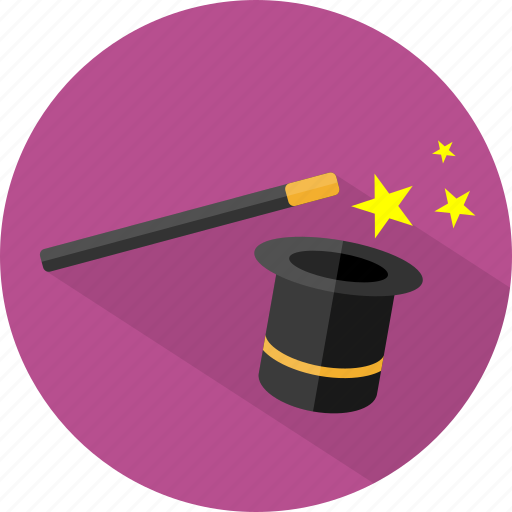 halloween, magic, wand icon