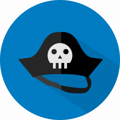halloween, hat, pirate icon