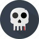 halloween, skeleton, skull icon