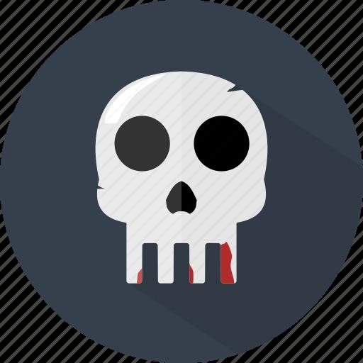 halloween, skeleton, skull icon