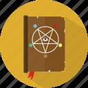 halloween, spellbook, wizard icon