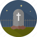 grave, halloween, tombstone icon