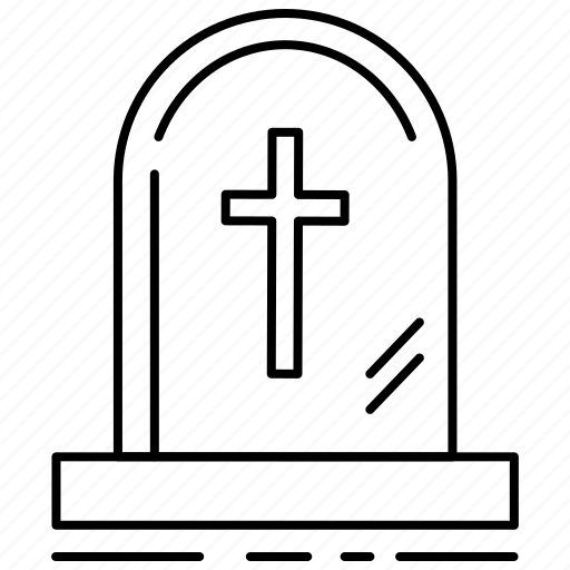 cemetery, grave, halloween, horror, monster, scary, treat or trick icon