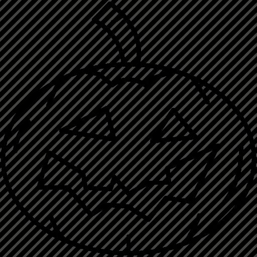 halloween, horror, pumpkin, scary, treat or trick icon