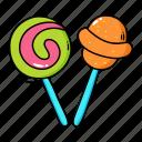 halloween, lollipop, candy, trick, or, treat, sweet