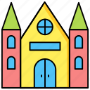 halloween, holiday, house, scary, spooky icon icon