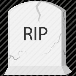 grave, halloween, tombstone icon