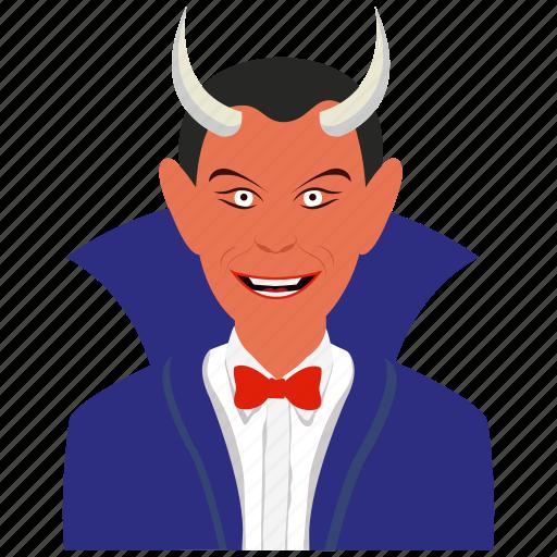 avatar, dracula, face, halloween, horror, monster icon