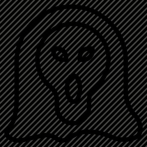 bones, dead, halloween, monster, skull, undead icon