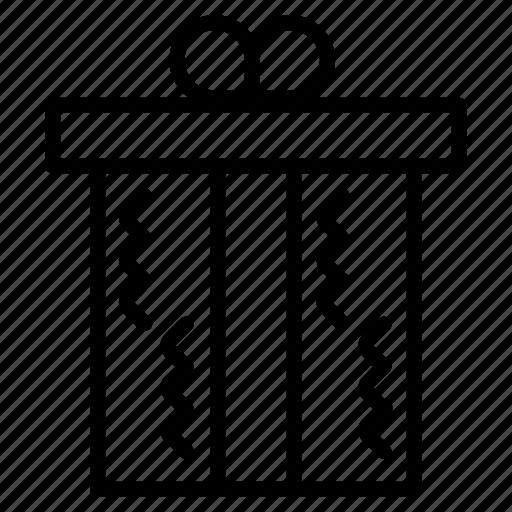 box, design, gift, object, parcel, present, surprise icon
