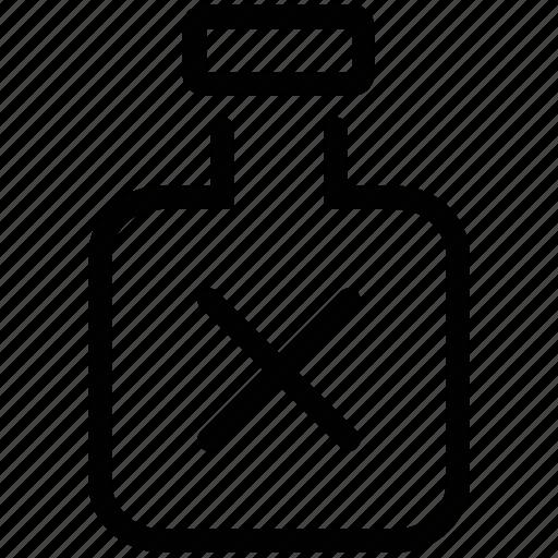 chemical bottle, chemical jar, dangerous, halloween jar icon