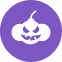 carved, decoration, glowing, halloween, lantern, pumpkin, pumpkins icon