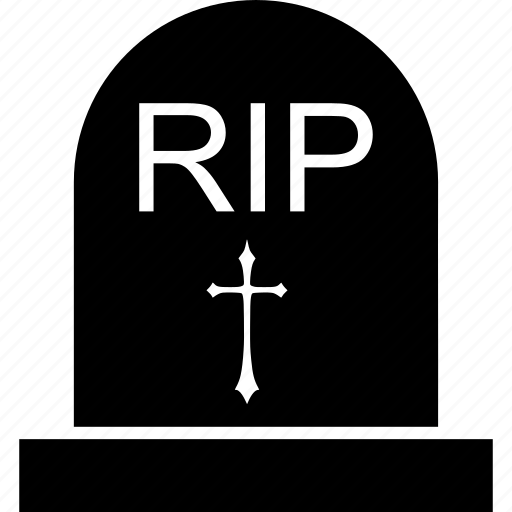 dead, doctor secret, grave stone, graveyard, halloween night, rip, tombstone icon