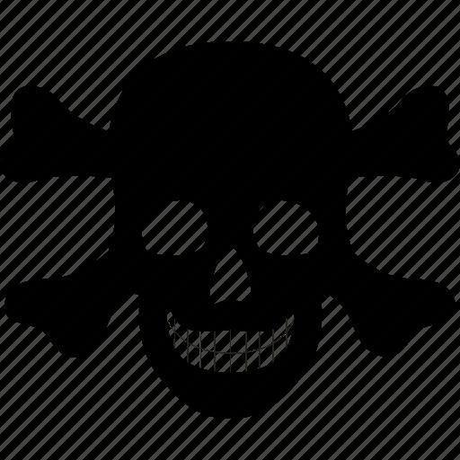 attention, danger, death, halloween, kill, medical, skull icon