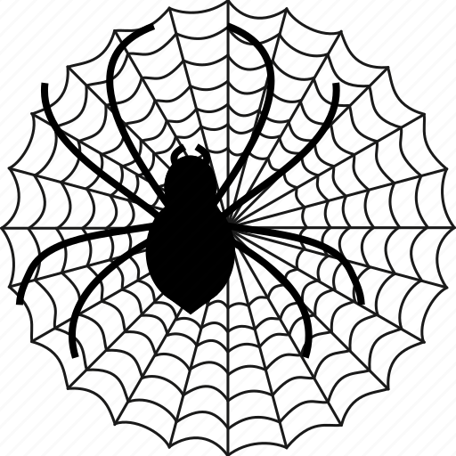 cobweb, insect, insects, net, spider network, spiderweb, web icon
