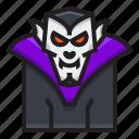 bat, dracula, halloween, horror, scary, vampire icon