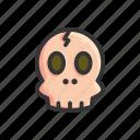 halloween, horror, scary, skull, spooky