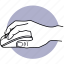 mouse, hand, mice, computer, finger, clicking, using icon