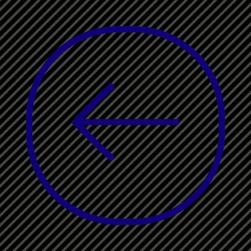 backward, carosel back, chevron, go back, left arrow, move left, previous icon