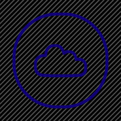 cloud service, cloud storage, online storage, share drive, storage, weather icon