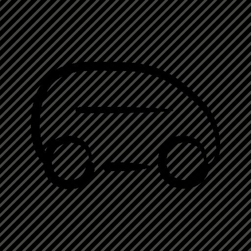 auto, automobile, car, hand drawn, mobility, rent, rental icon