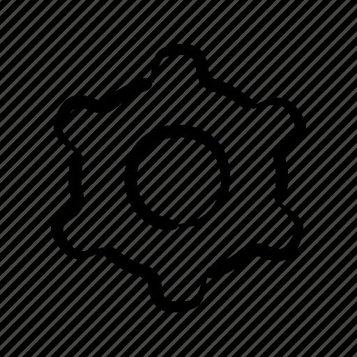 backoffice, cogwheel, construction, development, hand drawn, settings icon