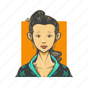 avatar, avatars, geisha, japanese, woman icon
