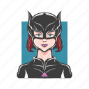 avatar, avatars, cat, catwoman, hero, sexy, super hero icon