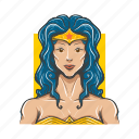 amazon, avatar, avatars, sexy, super woman icon