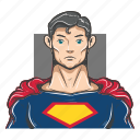 avatar, avatars, super hero, superman icon